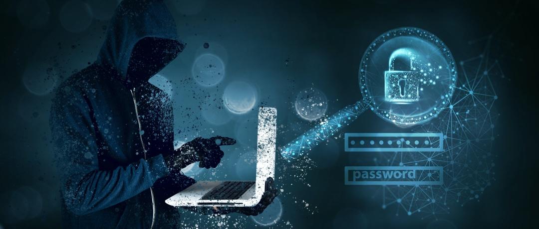 Cyber fraudster at work