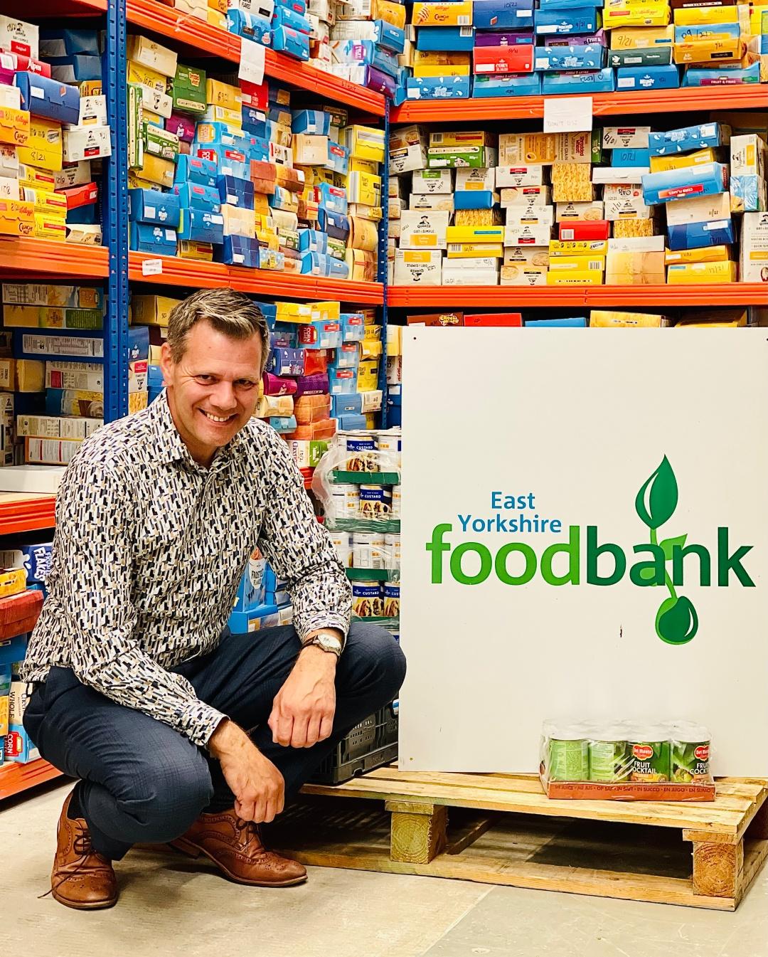 David Bird, Trustee, East Yorkshire Foodbank